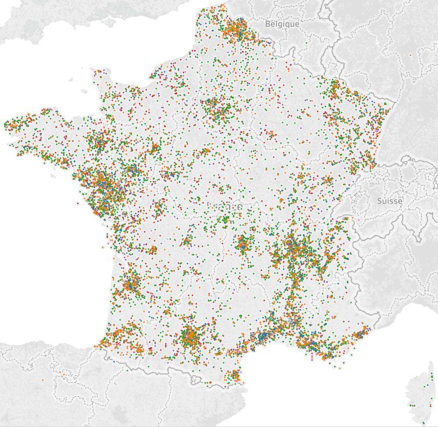 Une base de données unique en France